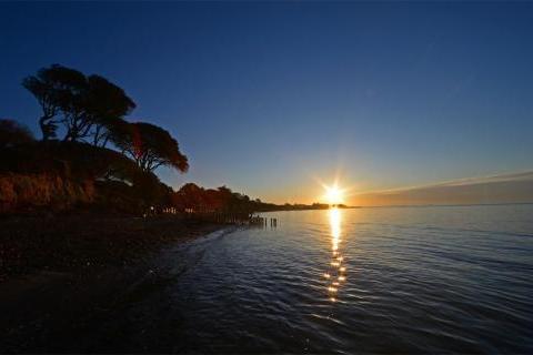 Dawn at Lepe Beach